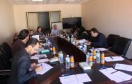 مؤسسة العون الطبى الفلسطينى تعقد ورشة عمل لكافة شركائها فى غزة