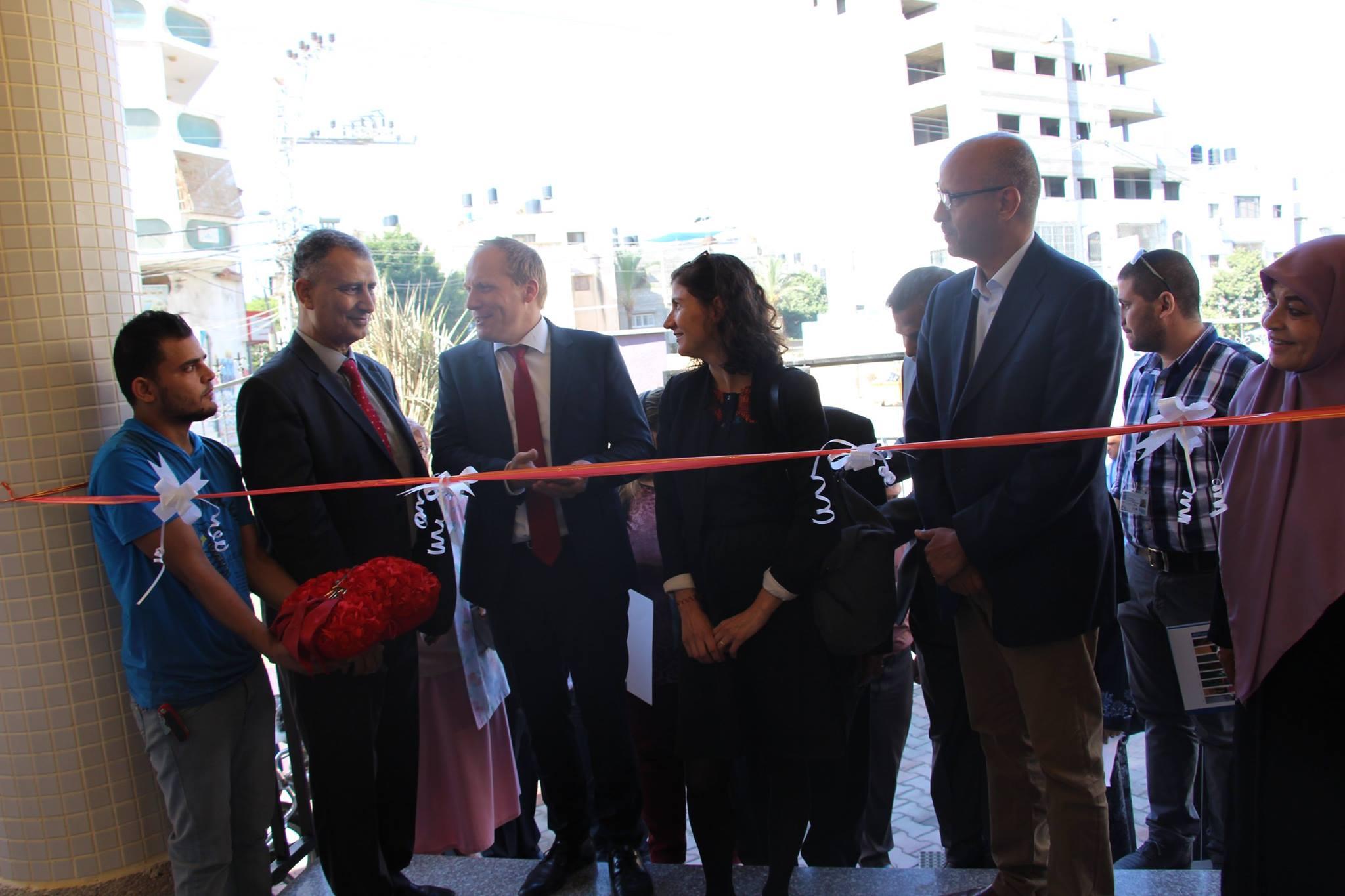 جانب من حفل إفتتاح بروتوكولى لمقر مبنى جمعية أرض الإنسان