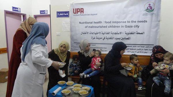 الاستجابة الغذائية لاحتياجات الأطفال المصابين بسوء التغذية
