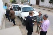 #زار وفد من برنامج الأغذية العالمي WFP أحد أنشطة (مشروع التوعية الغذائية)