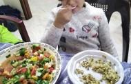 """الأنشطة الخاصة بإعداد وجبات طهى صحية للمستفيدين ضمن مشروع """" حملات التوعية الغذائية """""""