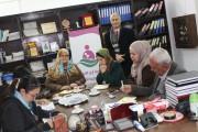 لقاء وفد من مؤسسة JVC اليابانية فى زيارة لجمعية أرض الانسان الفلسطينية الخيرية