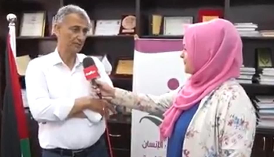 مقابلة للمدير التنفيذى لجمعية أرض الانسان الفلسطينية حول تناول الاطعمة واللحوم فى عيد الأضحى المبارك