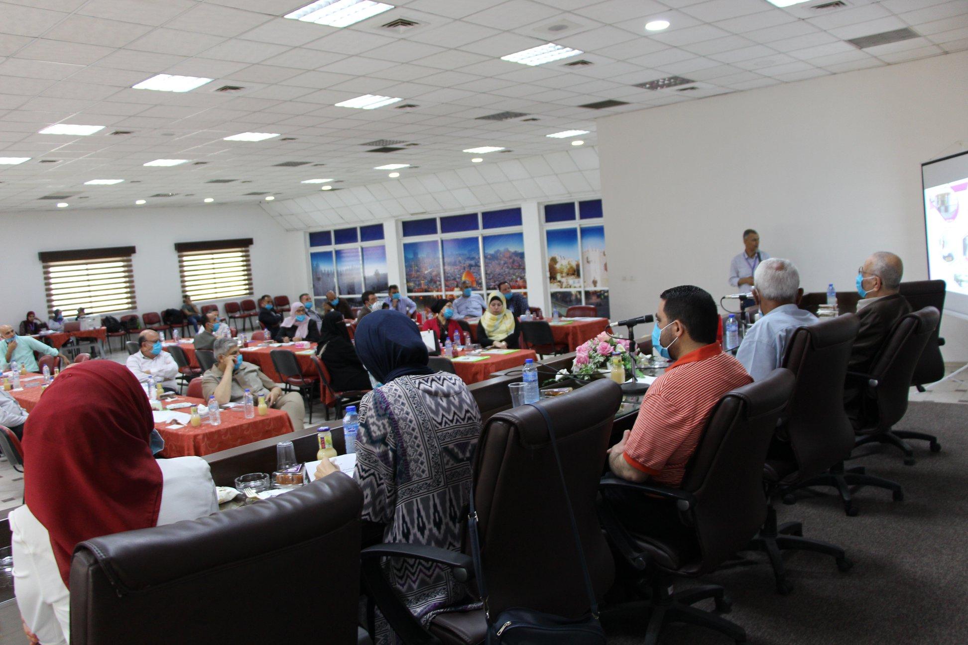 جمعية ارض الانسان الفلسطينية الخيرية تعقد اجتماع الجمعية العمومية لعام2019 -2020