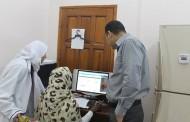 زيارة السيدة / بريسيلا استشاري تكنولوجيا المعلومات في مكتب المساعدات الدينماركية DCA