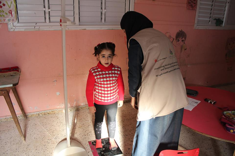 تواصل نشاط تعزيز العلاج والتعليم للأطفال وتمكين النساء فى غزة
