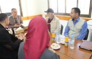 زيارة هيئة الإغاثة الإنسانية التركية ( IHH ) لجمعية أرض الإنسان