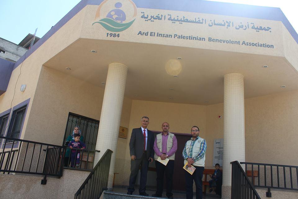 زيارة وفد من إتحاد الأطباء العرب
