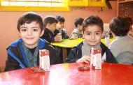 مشروع الحليب لرياض الأطفال