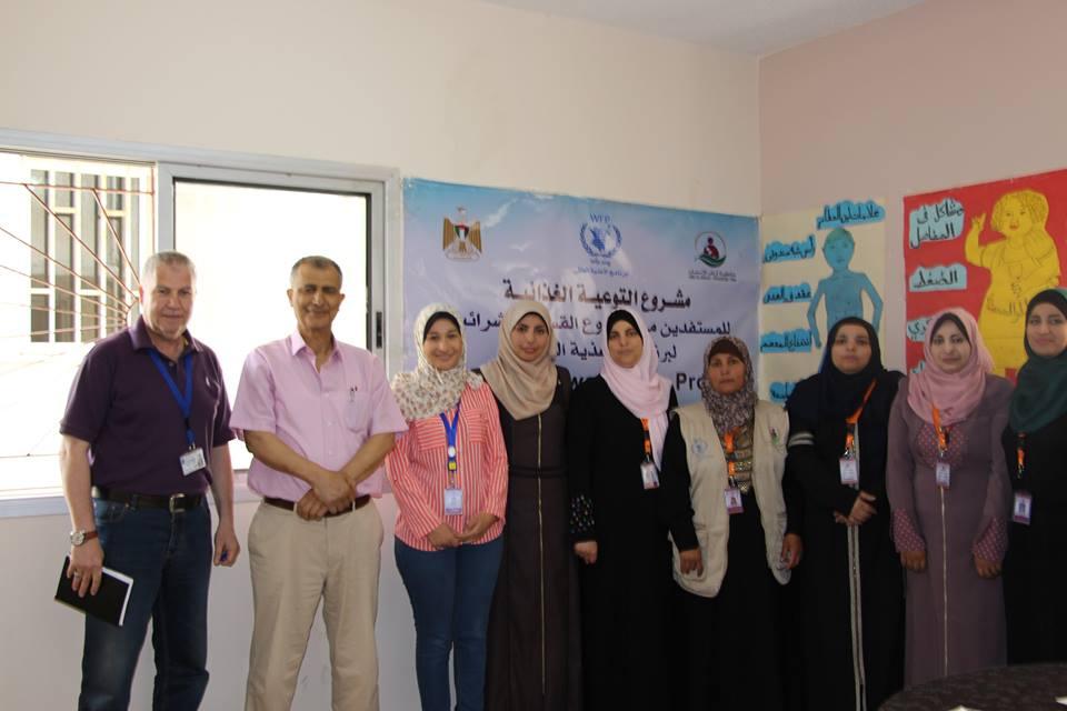 تم عمل مجموعة بؤرية للأمهات الرياديات ضمن مشروع التوعية