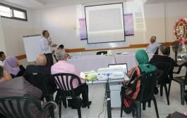 عقدت جمعية أرض الانسان الفلسطينية الخيرية اليوم اجتماع الجمعية العمومية