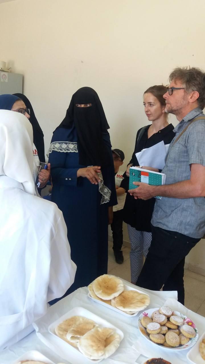 زيارة وفد من مؤسسة العون الطبى الإسلامى
