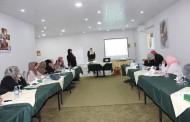 جمعية أرض الإنسان الفلسطينية الخيرية نفذت تدريب متخصص لعدد من المثقفات الصحيات المتطوعات حول صحة وتغذية الطفل وتطوره و دعم رفاهيته فى المناطق المهمشة